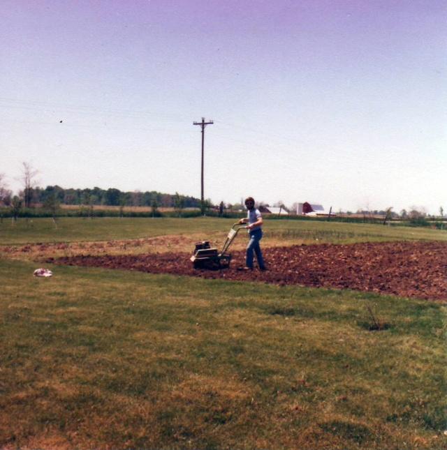 Finish tilling garden